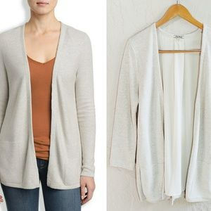 Lucky Brand Vented Layered Cardigan